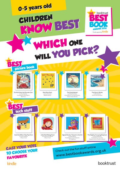 Best Book Awards 2014: Age 0-5 Poster