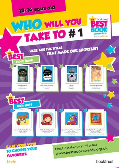 Best Book Awards 2014: Age 12-14 Poster
